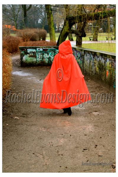 Little Red Riding Hood, a lovely red cape