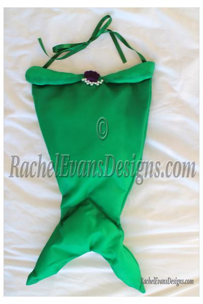 Childrens mermaid costume, the tail