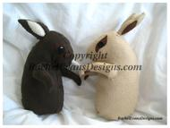 Brown and beige bunnikins